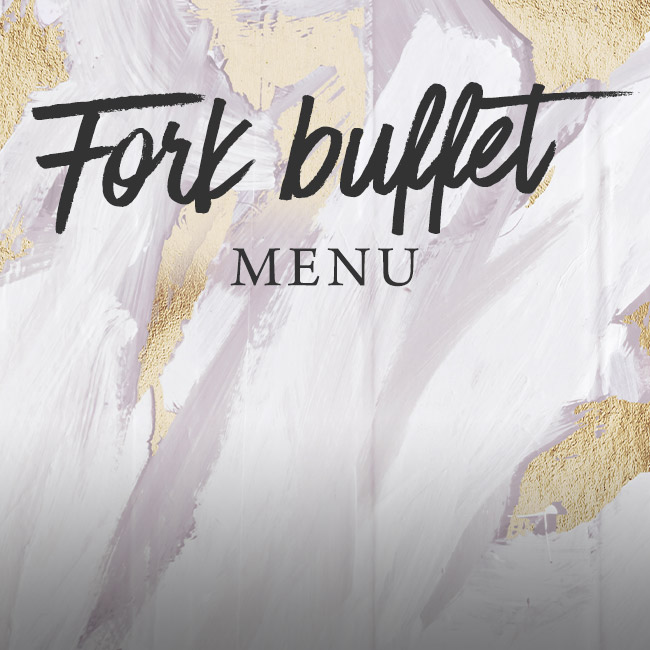 Fork buffet menu at The Encore