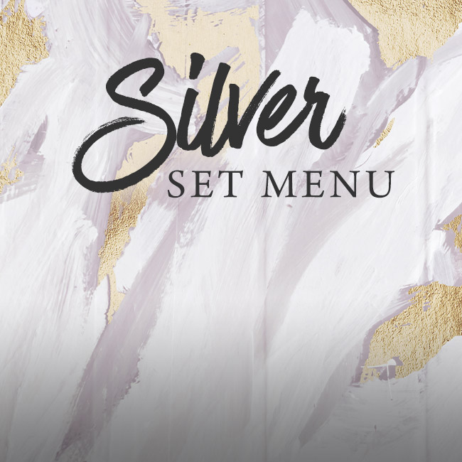 Silver set menu at The Encore