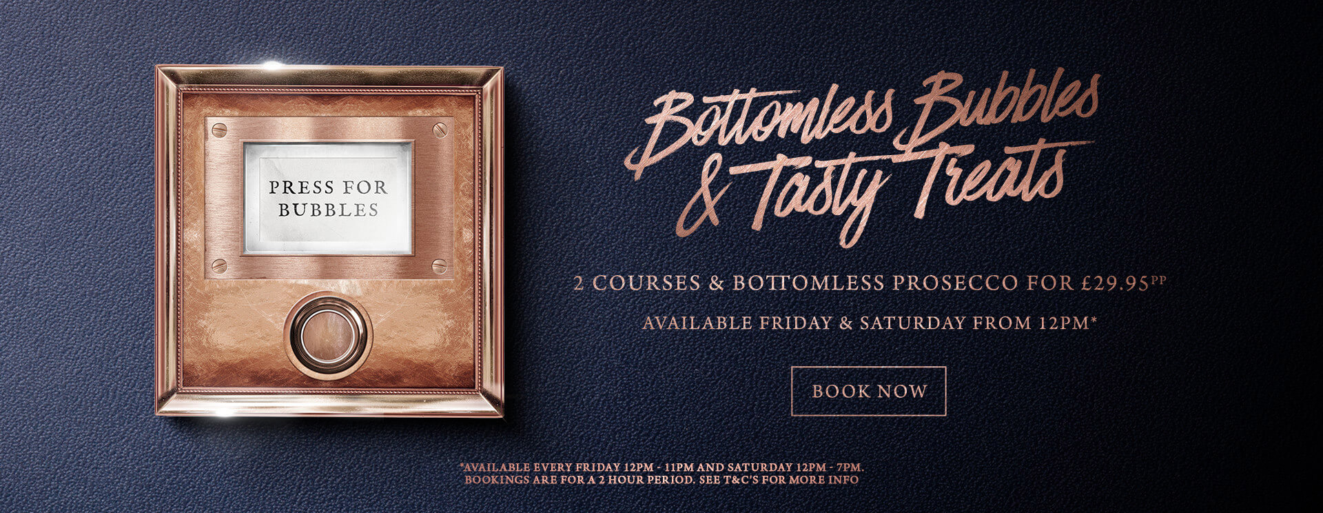 Bottomless Bubbles The Encore - Book now